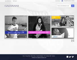 nº 43 pour Website Design for Galvanni par Niccolo