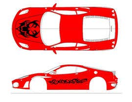 nº 6 pour Design Car Vinyl/Sticker for Ferrari F430 par toderascnd