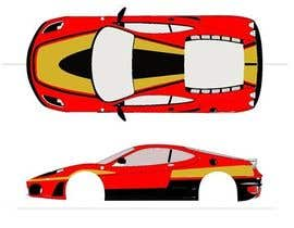 #4 para Design Car Vinyl/Sticker for Ferrari F430 por inkpotstudios