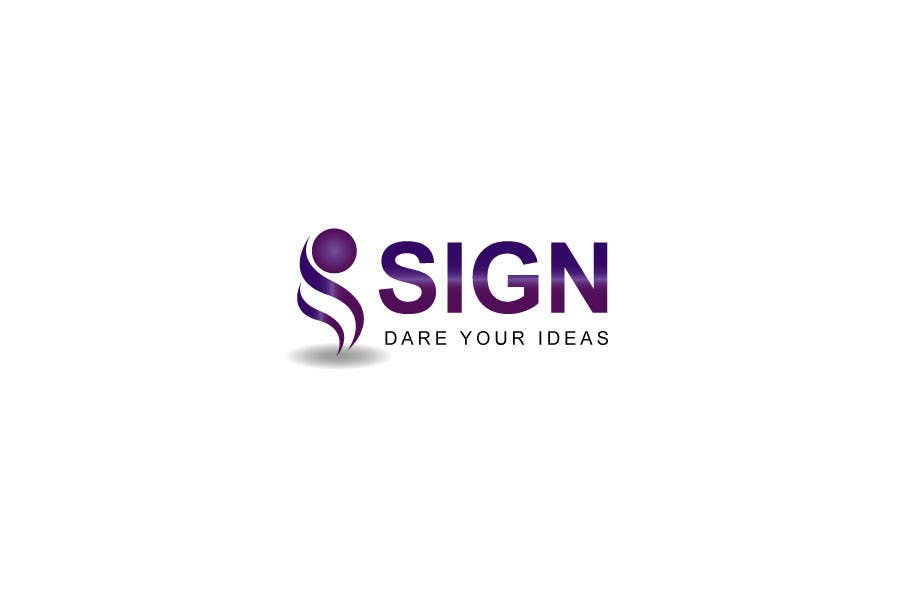 #91 for Design a logo for SIGN: the platform that funds citizens projects by finetone