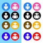 Graphic Design Entri Peraduan #23 for Design some contemporary male and female Icons