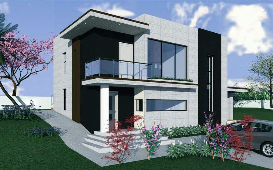 Contest Entry 21 For Redesign House Exterior To Contemporary
