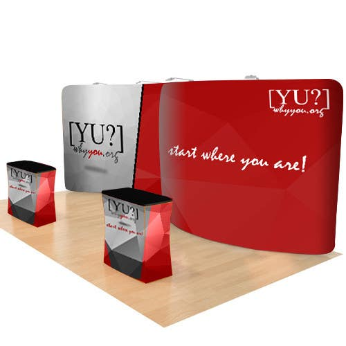 Contest Entry #19 for Design Pop-up 10x20ft Display Banner and Podium Graphics