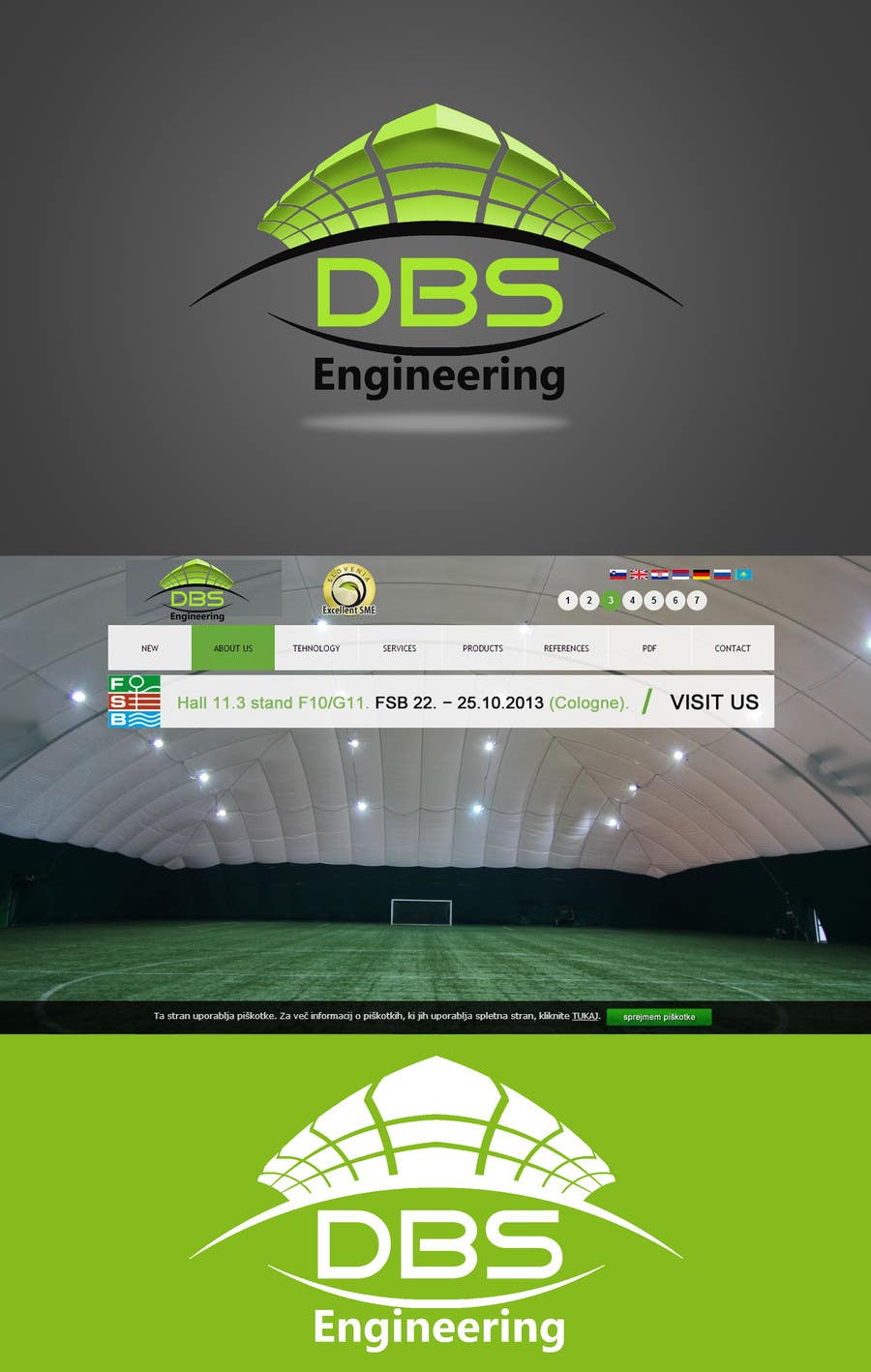 #69 for Design a Logo for company DBS by KhalfiOussama