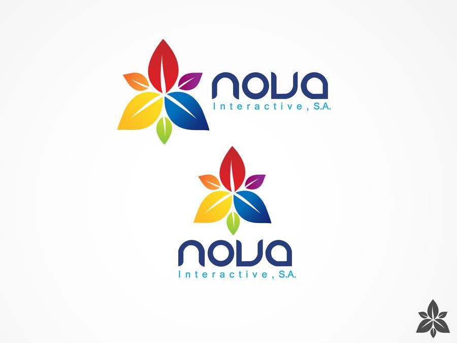 Inscrição nº 138 do Concurso para Design a Logo for NOVA INTERACTIVE