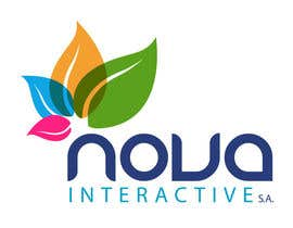 #147 para Design a Logo for NOVA INTERACTIVE por shyRosely