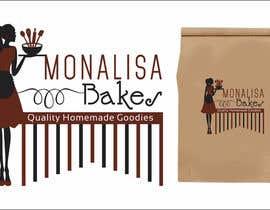 #15 for Logo Design for Monalisa Bakes by kashifawank