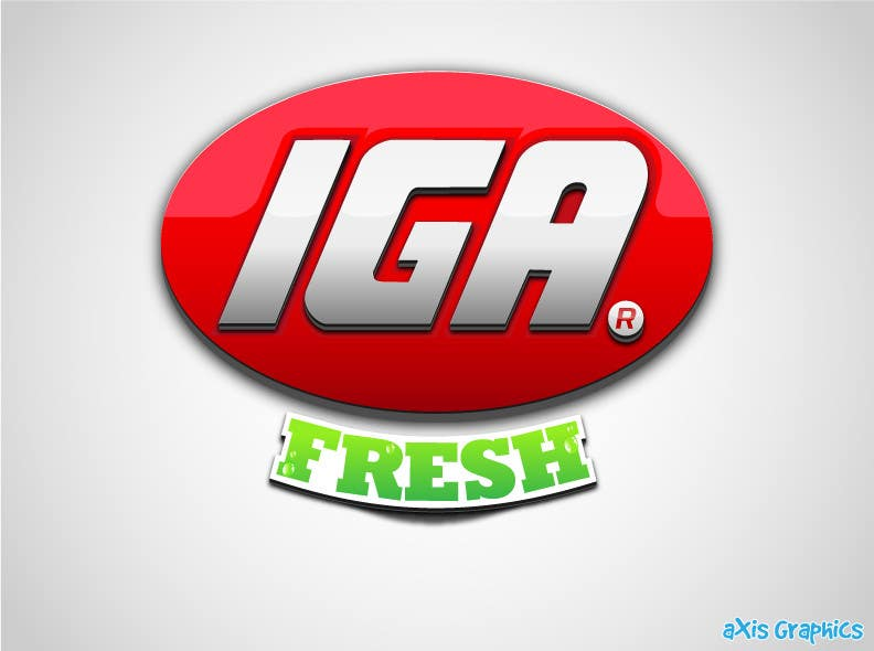 #135 for Logo Design for IGA Fresh by arunbluez
