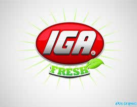 #159 cho Logo Design for IGA Fresh bởi arunbluez