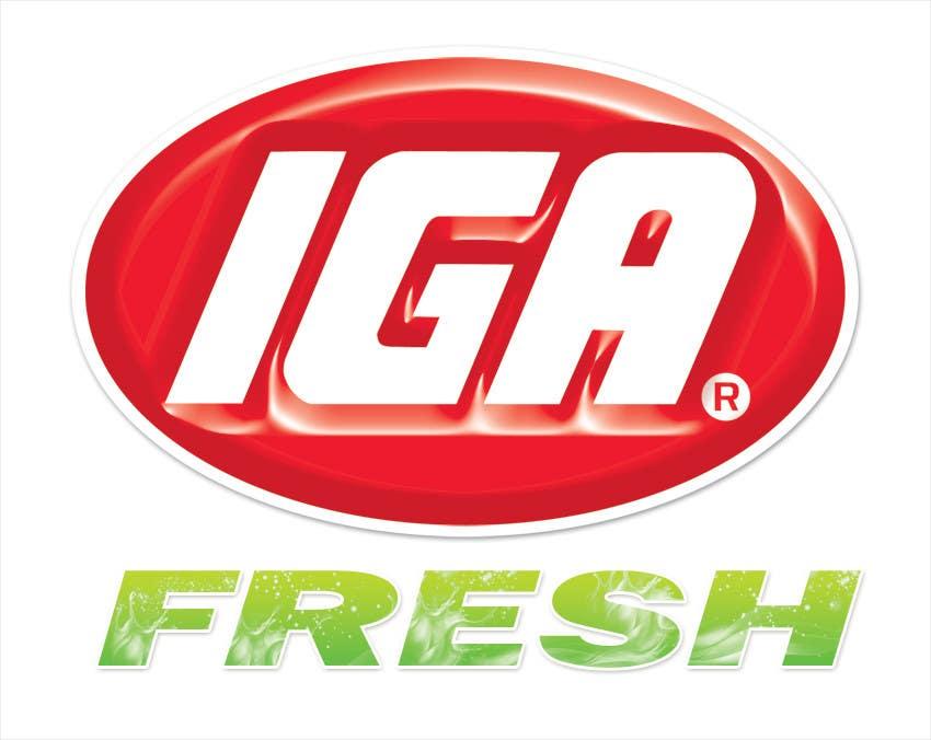 #127 for Logo Design for IGA Fresh by creativeideas83