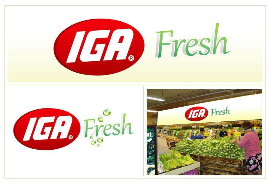 Inscrição nº 96 do Concurso para Logo Design for IGA Fresh