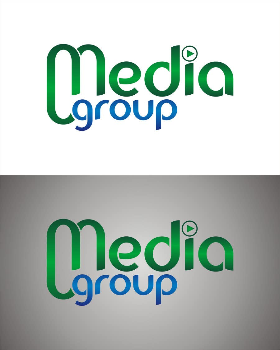 "Penyertaan Peraduan #23 untuk Design a Logo for my team with title is ""media-group"""