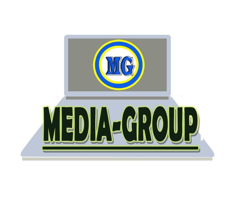 "Penyertaan Peraduan #12 untuk Design a Logo for my team with title is ""media-group"""