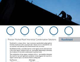 #44 for Design an Advertisement for Roofshield 2 af echobravo