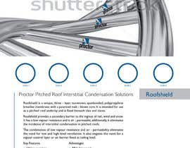 #54 untuk Design an Advertisement for Roofshield 2 oleh echobravo