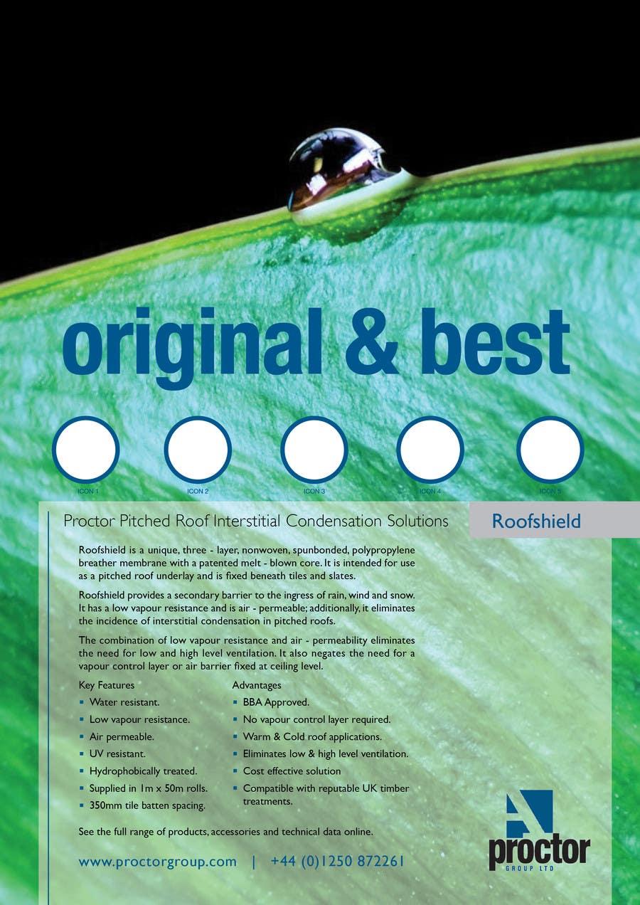 Bài tham dự cuộc thi #                                        57                                      cho                                         Design an Advertisement for Roofshield 2