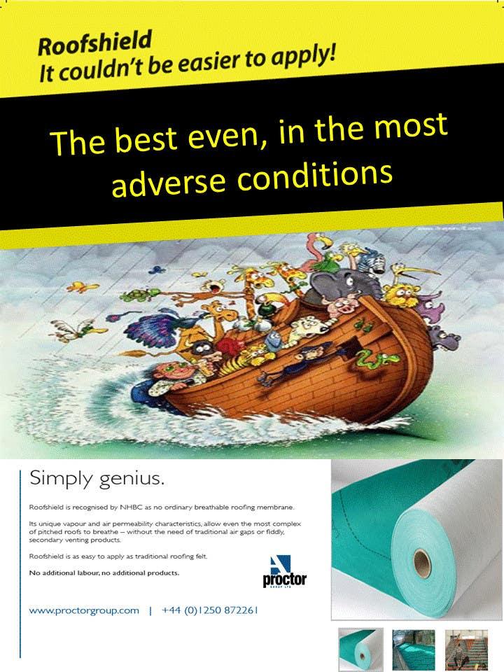 Bài tham dự cuộc thi #                                        74                                      cho                                         Design an Advertisement for Roofshield 2