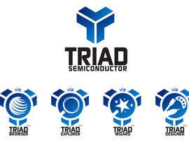 #245 para Logo Design for Triad Semiconductor por ulogo