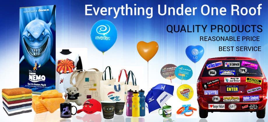 Kilpailutyö #10 kilpailussa Design a Banner for Promotional Gift Company