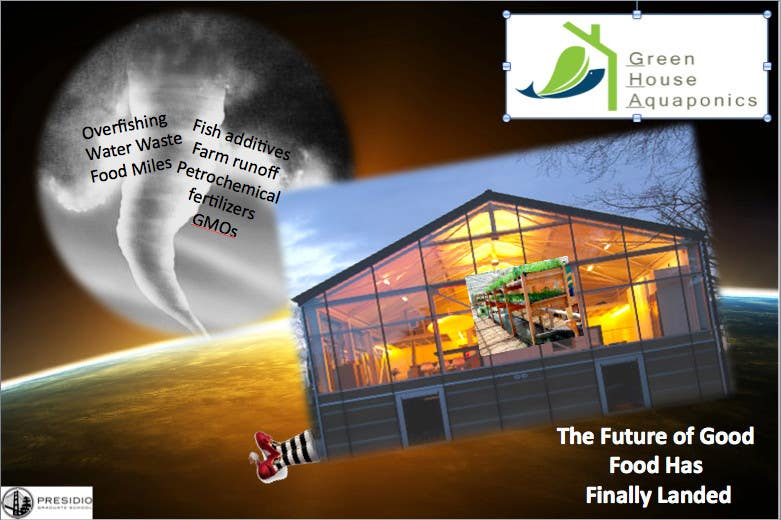 Contest Entry #                                        13                                      for                                         Business Poster for Green House Aquaponics