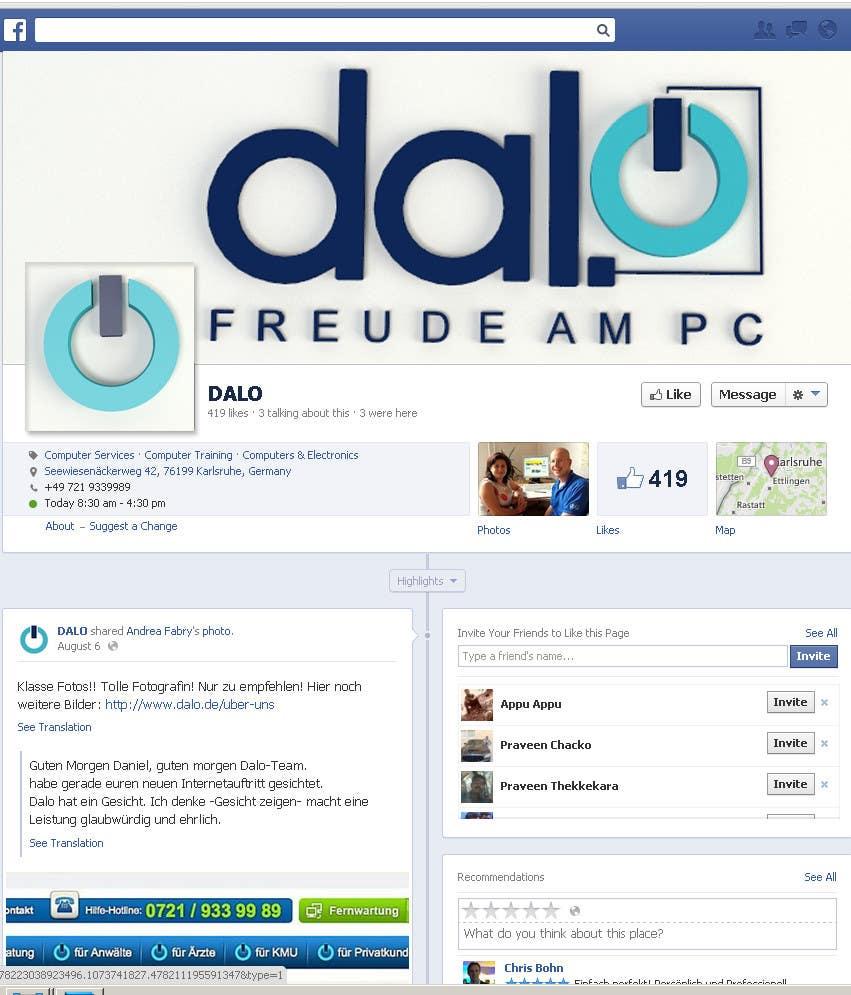 Inscrição nº 70 do Concurso para Design enhancement in 3D for DALO logo