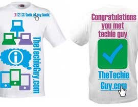 #58 для T-shirt Design for TheTechieGuy.com от zackushka