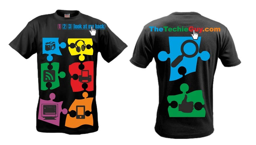 Contest Entry #71 for T-shirt Design for TheTechieGuy.com