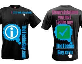 #62 для T-shirt Design for TheTechieGuy.com от zackushka