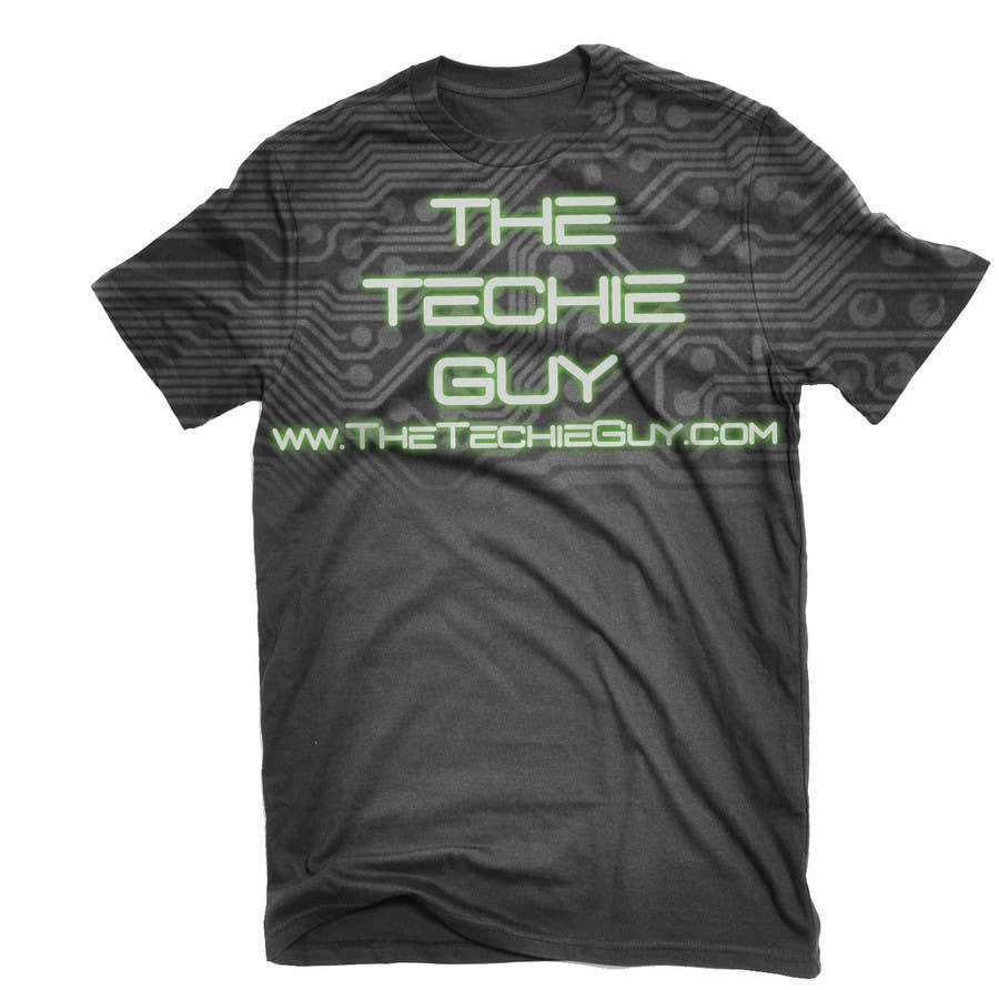 Конкурсная заявка №                                        34                                      для                                         T-shirt Design for TheTechieGuy.com