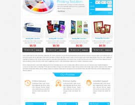 nº 10 pour Homepage & Product Page Design & Logo Required par atularora