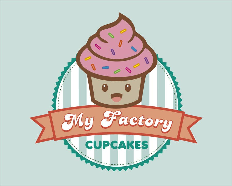 #18 for Cupcake logo design by MaryorieR