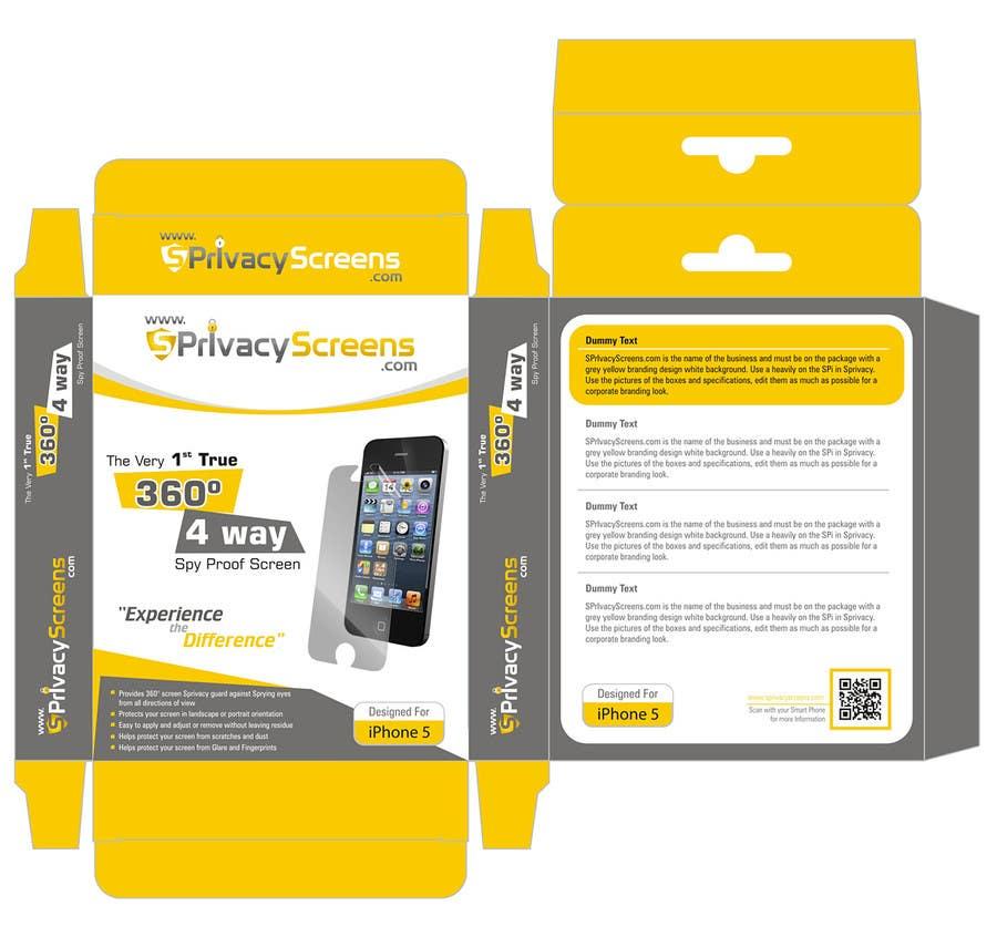 #1 for Corporate Branding Retail Box Design for www.SPrivacyscreens.com by suneshthakkar