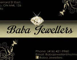 #14 for Design some Business Cards for Jewelry Store af AHTOAH