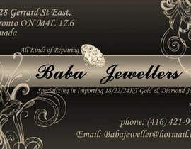 #17 for Design some Business Cards for Jewelry Store af BorontisCatalin