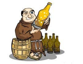 #16 for ILLUSTRATION / CARICATURE OF A MONK BREWER. af VascoIMedia