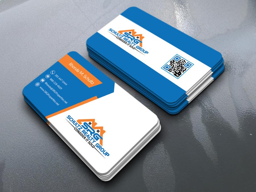 Entry #48 by mdakasabedin for Business Card Design for Real Estate ...