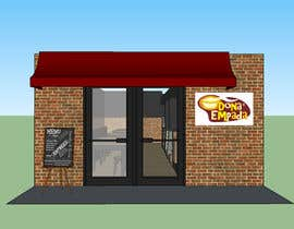 #6 para Restyle Coffe Shop with new front entrance design, Counter and Cashier. -- 2 por ramoseduardo