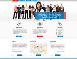nº 20 pour Redesign our company website par grafixeu