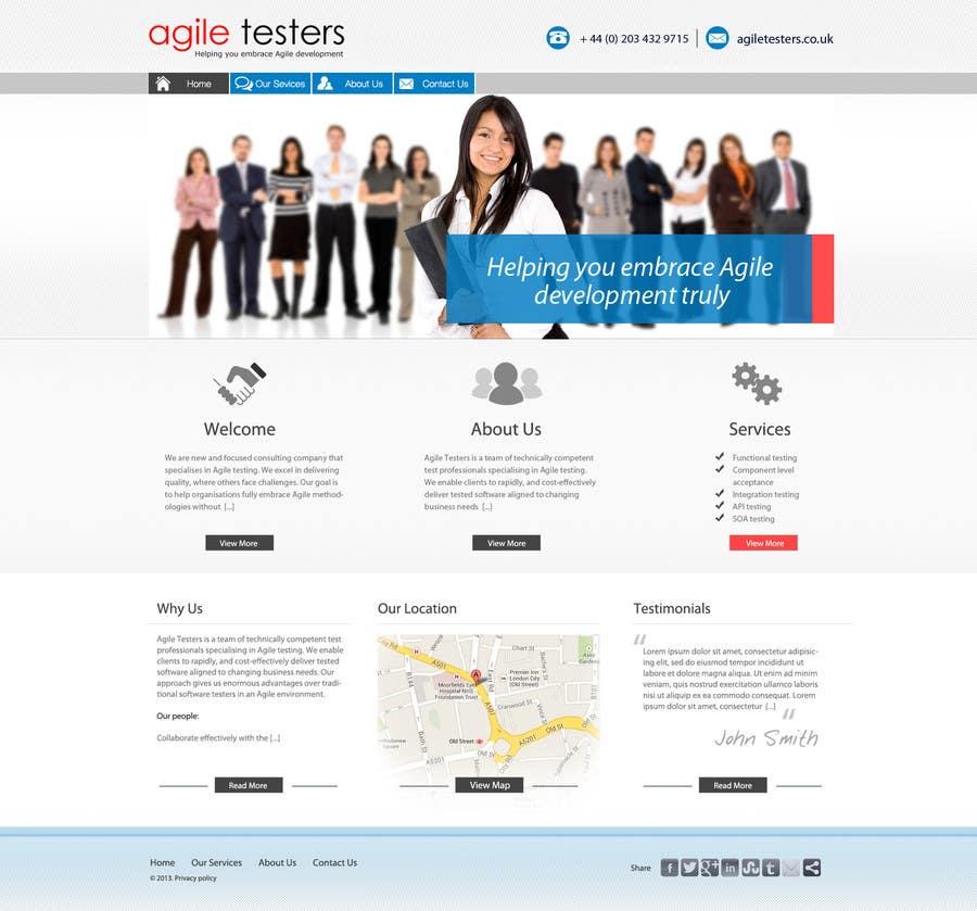 Inscrição nº 23 do Concurso para Redesign our company website