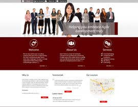 nº 39 pour Redesign our company website par grafixeu
