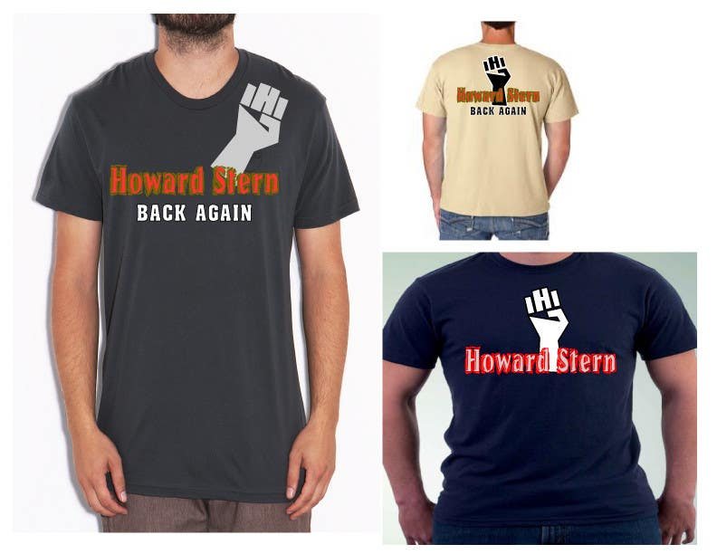 Proposition n°23 du concours Design a T-Shirt for The Howard Stern Show