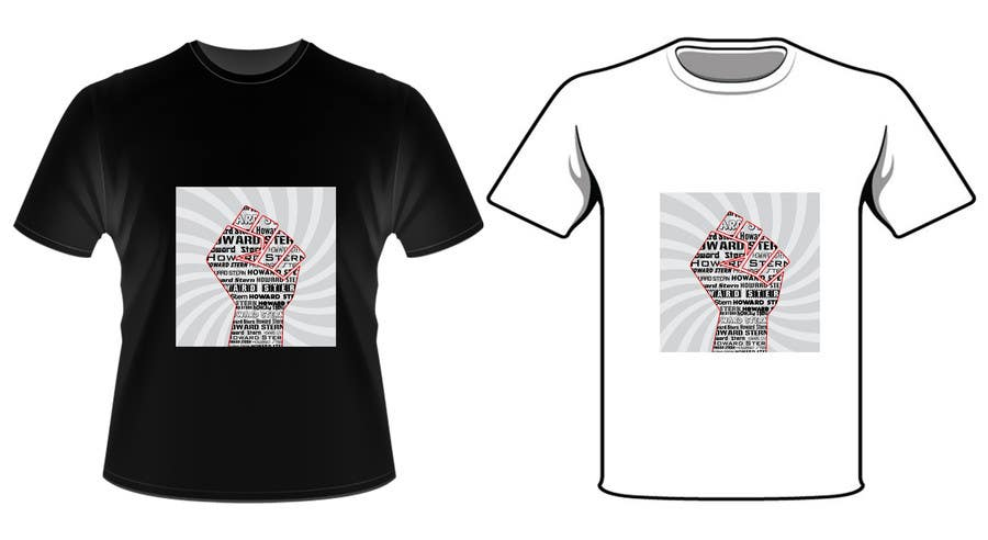 Proposition n°61 du concours Design a T-Shirt for The Howard Stern Show