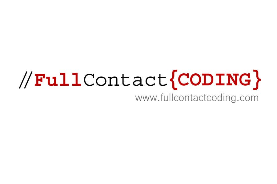 Contest Entry #31 for Design a logo for FullContactCoding.com