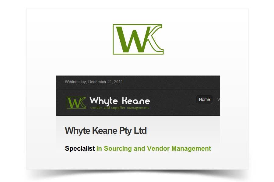 Penyertaan Peraduan #711 untuk Logo Design for Whyte Keane Pty Ltd