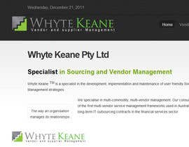 #542 für Logo Design for Whyte Keane Pty Ltd von smdanish2008