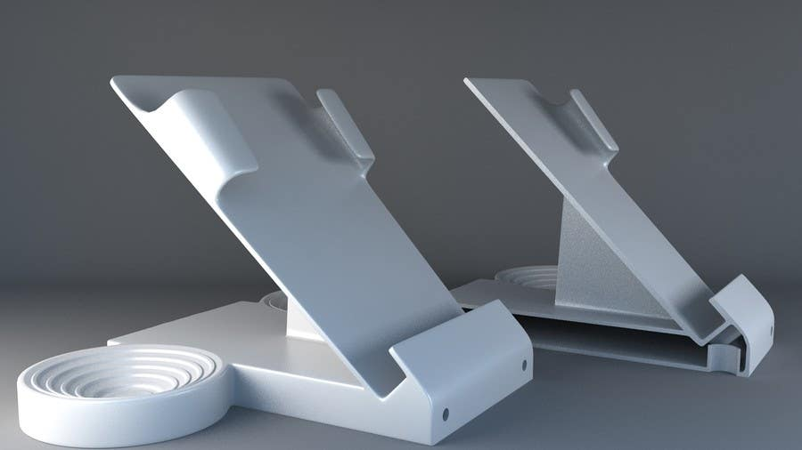 Contest Entry #3 for 3D modeling / Redesign for Car cradle