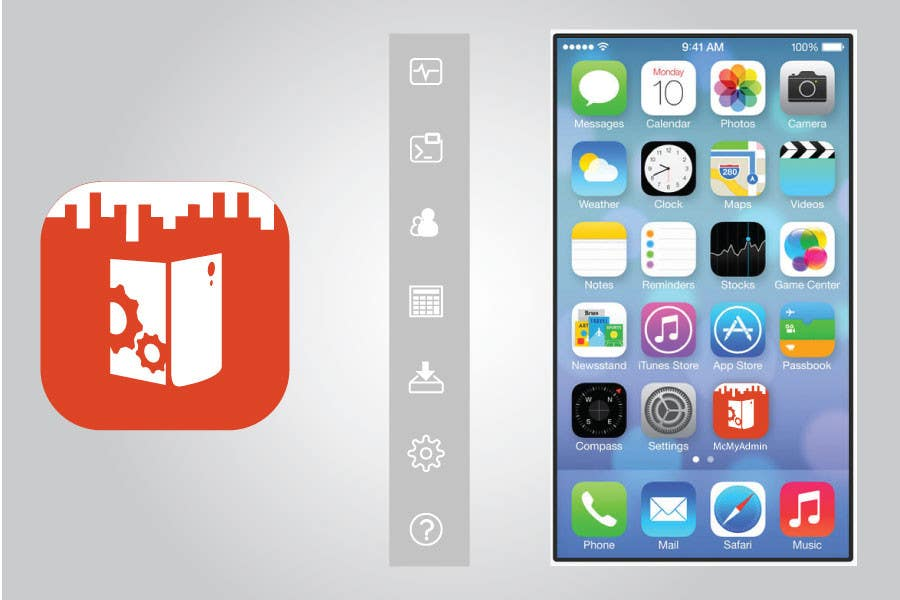Bài tham dự cuộc thi #                                        3                                      cho                                         (Re-)Design icons of iOS app for usage iOS 7