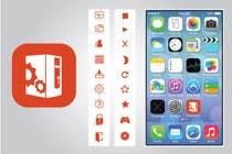 Bài tham dự #28 về Graphic Design cho cuộc thi (Re-)Design icons of iOS app for usage iOS 7