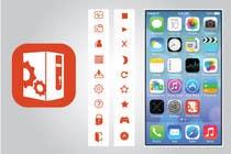 Bài tham dự #30 về Graphic Design cho cuộc thi (Re-)Design icons of iOS app for usage iOS 7