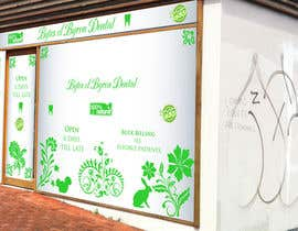nº 57 pour I need some Graphic Design for shop front window of Eco Dental Surgery par AGeorgescu